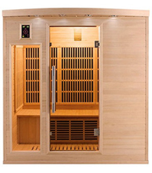 Sauna infrarouge Apollon 4 places vue 1