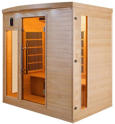 Sauna infrarouge Apollon 4 places vue 3