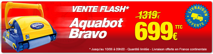 Vente flash aquabot bravo
