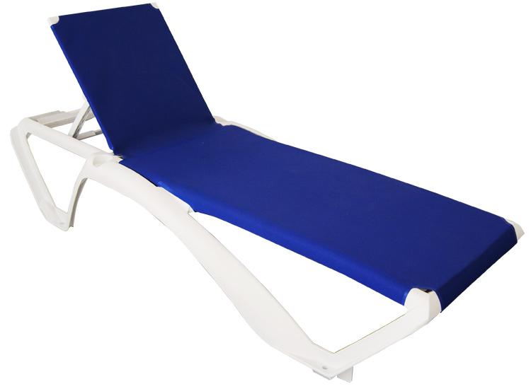 Bain de soleil marina for Chaise longue pour piscine pas cher
