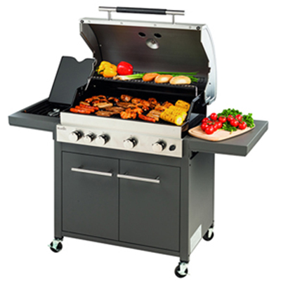 Barbecue gaz inox Royal