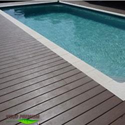 plage piscine en bois composite wood premium. Black Bedroom Furniture Sets. Home Design Ideas