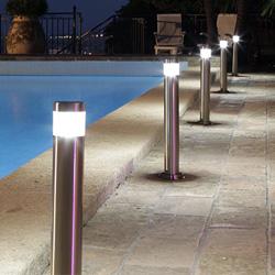 Luminaire ext rieur bord de piscine for Luminaire exterieur terrasse piscine