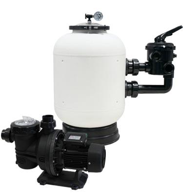 Pack de filtration pompe et filtre caliente pour for Pack filtration piscine