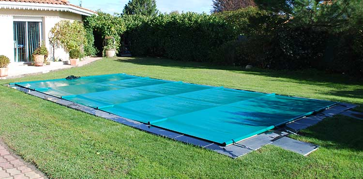 B che de s curit barres colorbar aluminium et for Prix piscine 9x5