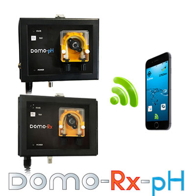 Pompes doseuses Domo Duo pH/Rx WIFI