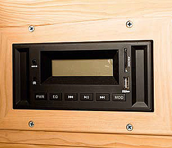 Panneau de commande radio/mp3 sauna infrarouge DAKOTA