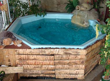 Coque piscine spa Kuta