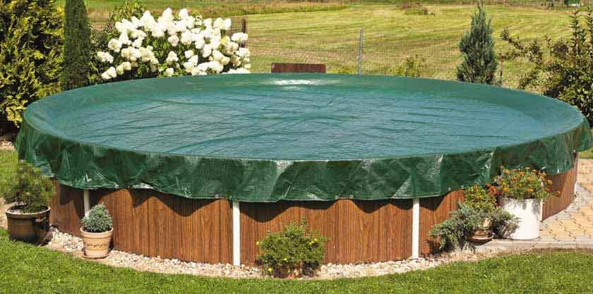 B ches d 39 hiver piscines hors sol conomiques et tr s - Bache d hiver pour piscine hors sol ...