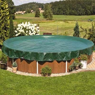 Couvertures et b ches d 39 hiver pour piscines hors sol - Couverture piscine hors sol toulouse ...