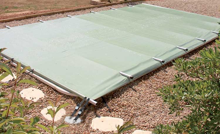 Couverture de s curit piscine starpool premium for Enrouleur bache piscine rolltrot