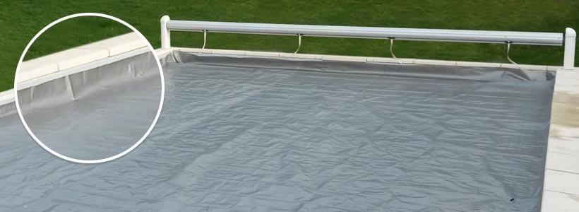 Couverture de protection pour volet de piscine procover - Protection piscine volet roulant ...
