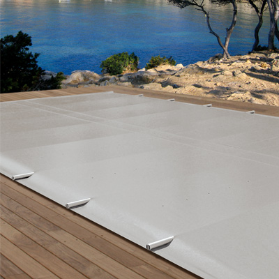 Couvertures de s curit barres pour piscines enterr es - Couverture securite piscine ...