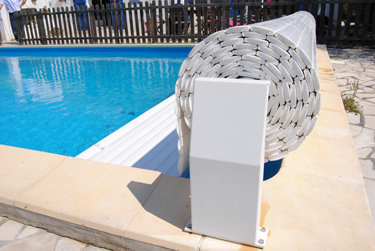 Volet automatique hors sol safety roll - Ideal protection piscine ...