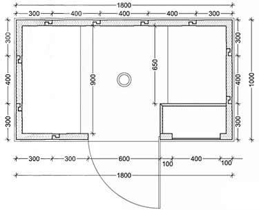 kit cabine hammam 2 3 personnes. Black Bedroom Furniture Sets. Home Design Ideas