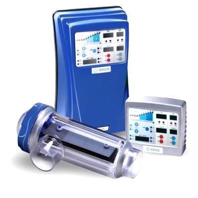 Traitement automatique de l 39 eau de piscine par - Electrolyse pour piscine ...