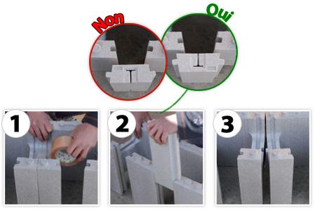 Étapes de montage de l escalier ROMAN du kit piscine polystyrène Astralpool First Bloc