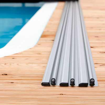 Extension de rail pour abri Abrissime 4 modules longueur 3.23 ml