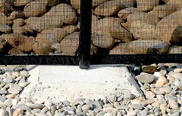 Barri re de protection pour piscine nora for Barriere piscine souple
