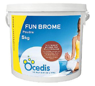Fun brome ocedis traitement piscine