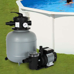 Groupe de filtration piscine pompe filtre for Pompe filtration piscine hors sol