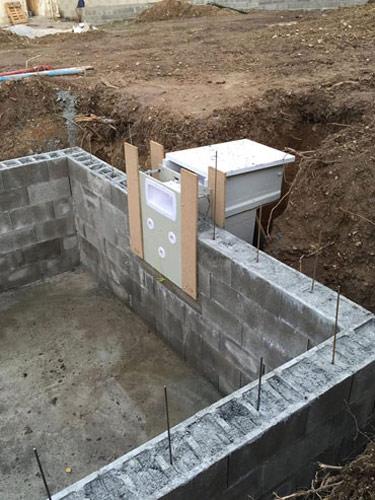mur filtrant tout en 1 pour piscine bloc polystyr ne filtrinov. Black Bedroom Furniture Sets. Home Design Ideas