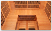 Assise sauna infrarouge apollon