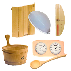 Saunas en kit mat riel et accessoires - Accessoires pour sauna ...