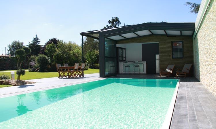 Kit piscine acier galvanis tradipool for Kit piscine acier