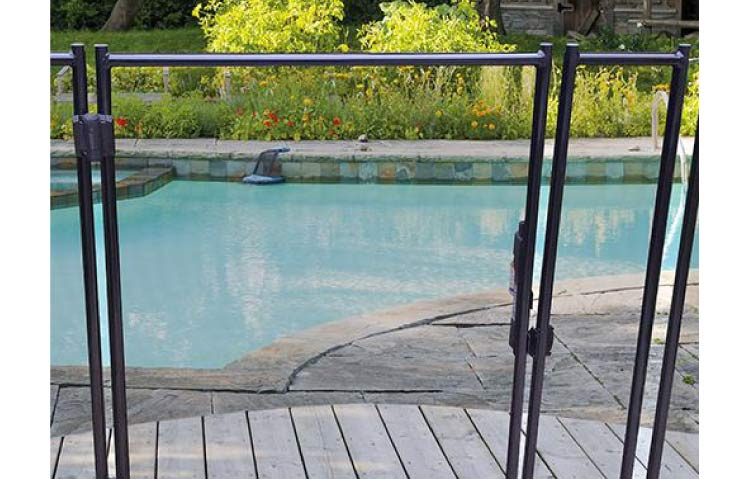 Barri re piscine beethoven rigide for Barriere amovible pour piscine