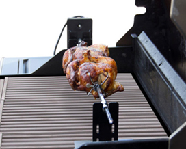 Kit rotisserie barbecue