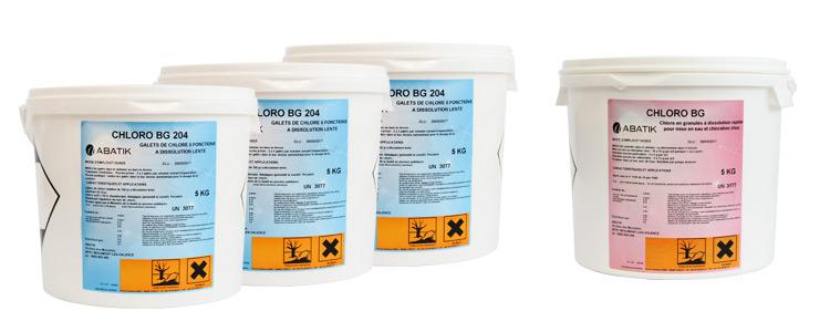 Kit produit abatik traitement complet pour l 39 eau de votre for Traitement d eau piscine