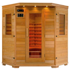 Saunas infrarouge en vente prix discount - Sauna infrarouge 4 places ...