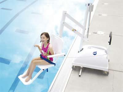 Si ge l vateur pal lift acc s piscine aux handicap s - Piscine pour personne handicapee ...