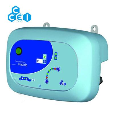 Traitement automatique de l 39 eau de piscine par for Electrolyseur piscine