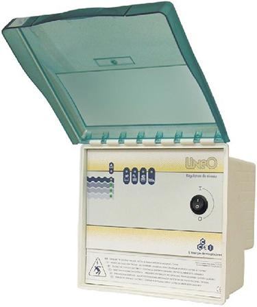 R gulateur de niveau d 39 eau ccei lineo 5s pour piscine for Sonde bac tampon piscine