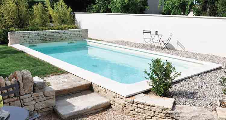 Liner pool 75 sur mesure pour piscines enterr es for Tarif piscine enterree