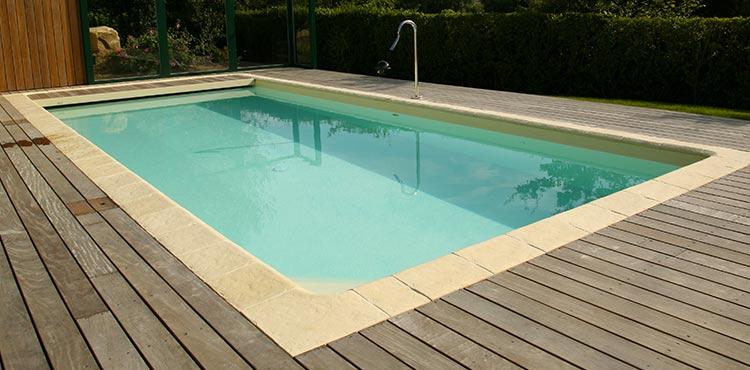 Liner haute temp rature resist 75 sur mesure pour piscines for Piscine avec liner beige