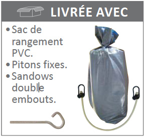 Sac rangement couverture hivernage WINTER POOL