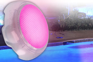 Mini projecteurs led piscine seamaid blanc et couleur - Projecteur piscine couleur ...