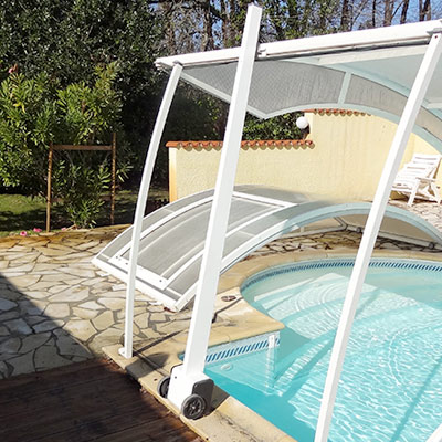 Motorisation d'abri de piscine Lift Up