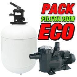 Groupe de filtration piscine pompe filtre for Pack filtration piscine