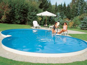 piscine acier en 8
