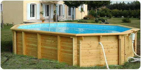 Piscine bois 6x4 for Prix piscine beton 6x4