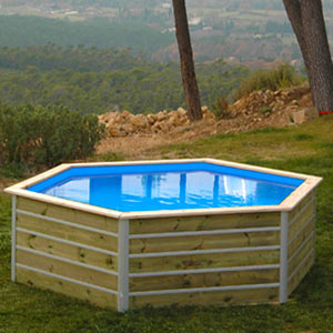 Mini Piscine bois Water'Clip Kid
