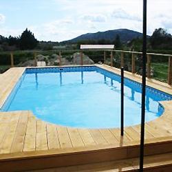 Piscine PORTO FERRO Coque Polyester - Le cout d une piscine