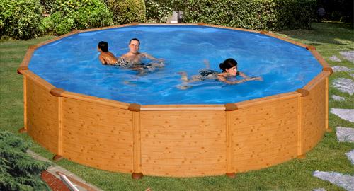 piscine hors sol aspect bois mauritius - Piscine Hors Sol Metal Aspect Bois