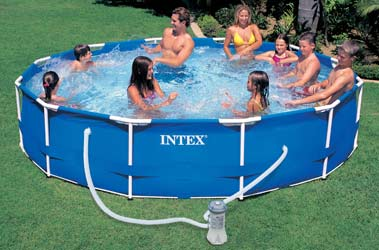 Piscine tubulaire prix discount for Montage piscine intex