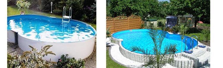 Kit piscine uni de forme ovo de for Realiser sa piscine
