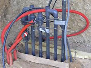 Installation de la plomberie et du local technique for Local technique piscine surface de plancher